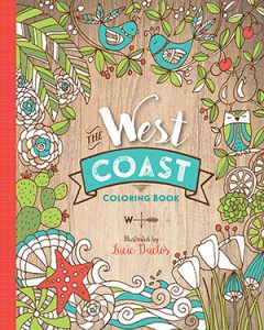 The West Coast Adult Coloring Book!